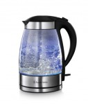 ILLUMINATED GLASS KETTLE WITH OUST
